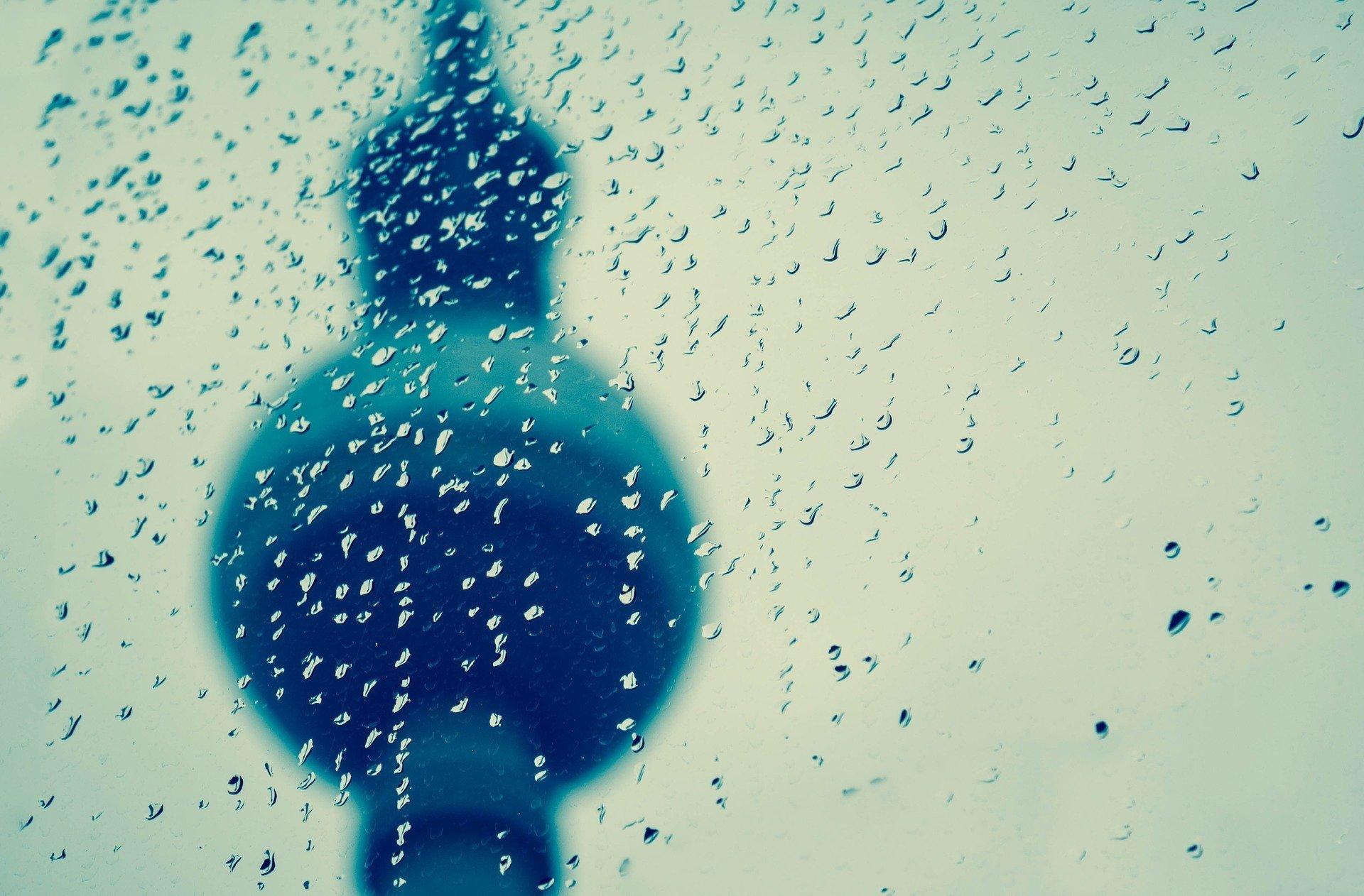 Regen Fernsehturm