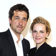 Denise Zich und Andreas Elsholz
