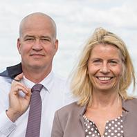 Birgit Möhring und Sven Lemiss