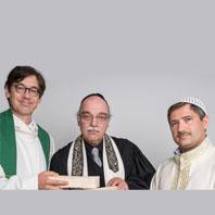 Pfarrer Gregor Hohberg, Rabbiner Andreas Nachama, Imam Kadir Sanci
