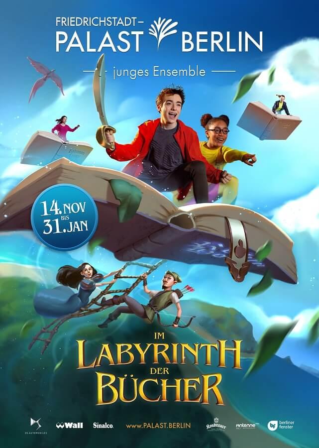 Young Show 'Im Labyrinth der Bücher'