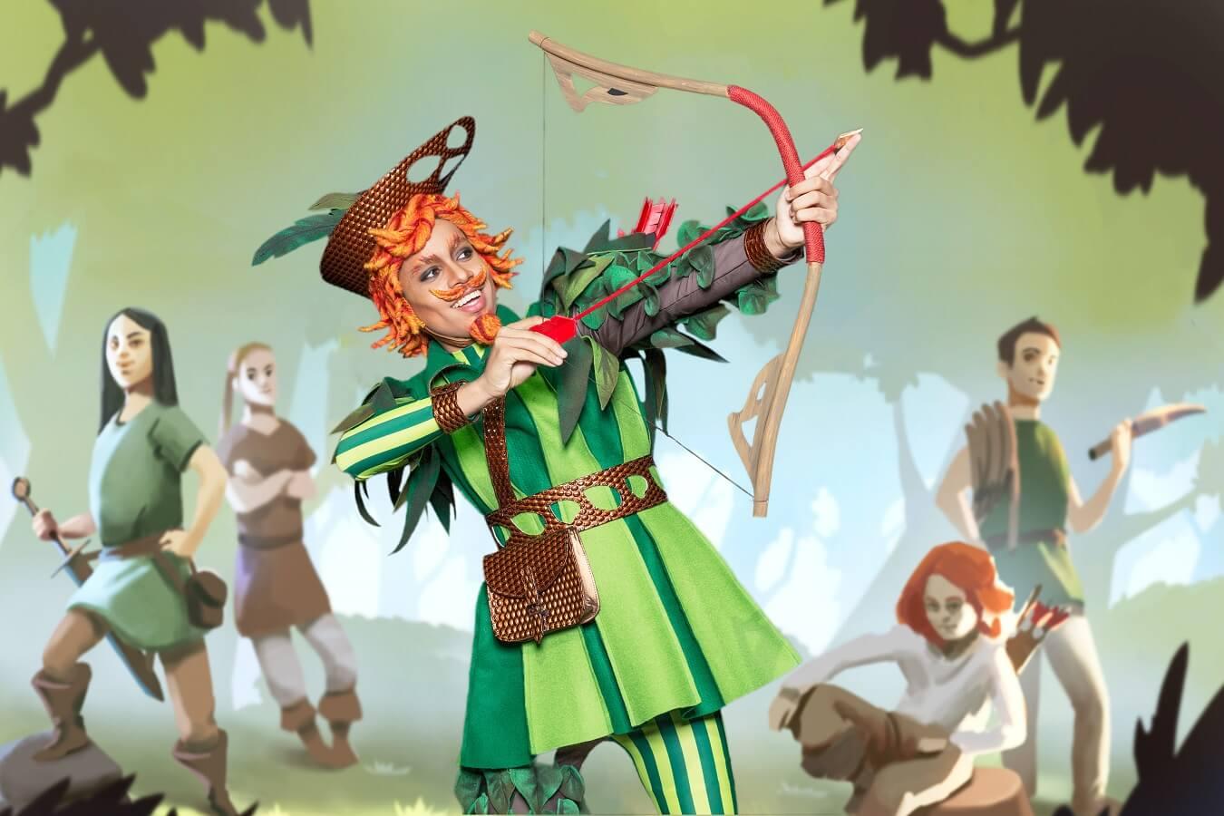 Robin in seiner Hood